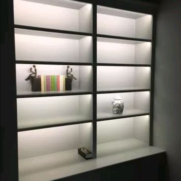 Illuminated Bookshelf